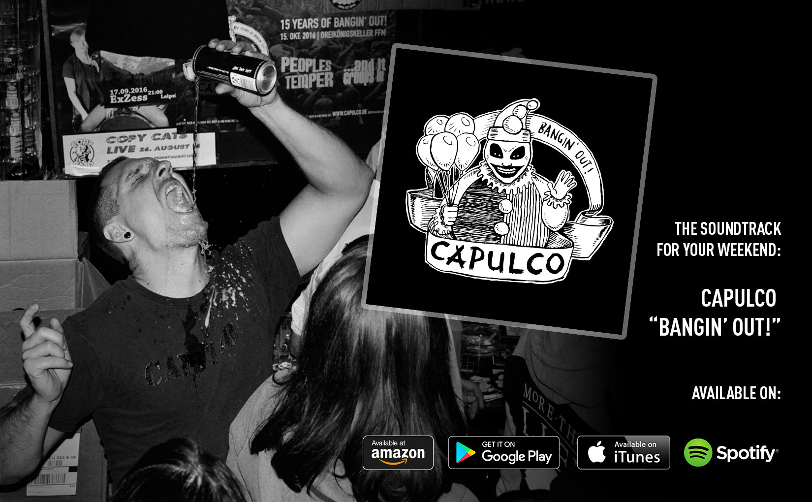 "Capulco ""Bangin' Out!"" Online-Release"